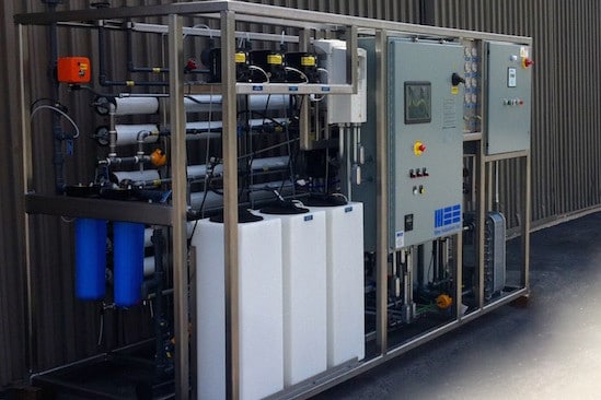 Water Treatment for Gas Turbine Cooling