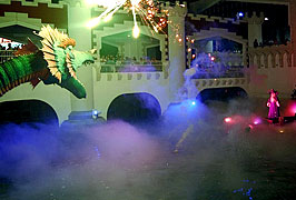 For beautiful special effects just add MeeFog systems and your imagination