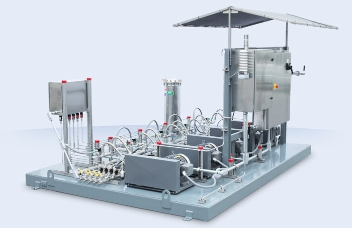 Cooling large air-cooled heat exchangers  | Mee Industries, Inc